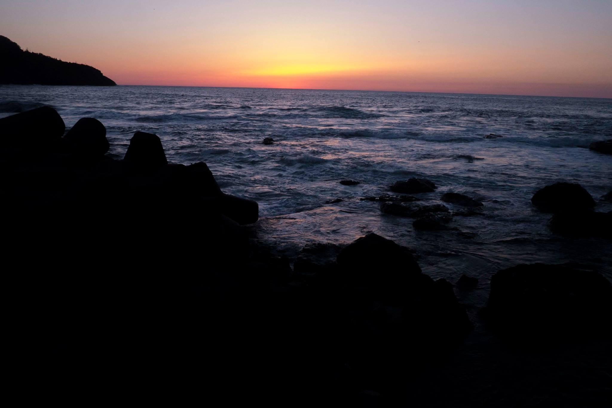 ありがとう。夕日よ、竹野よ。