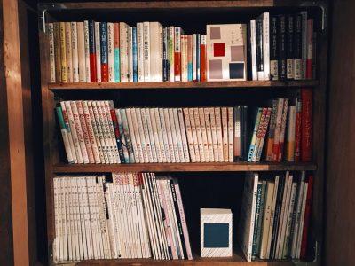 本棚設置しました