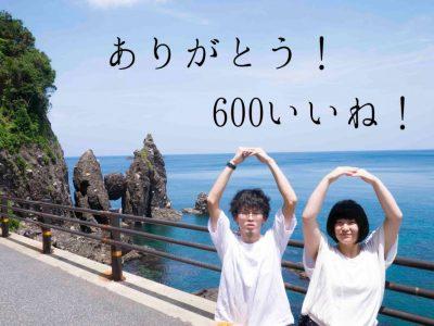 祝!600いいね!